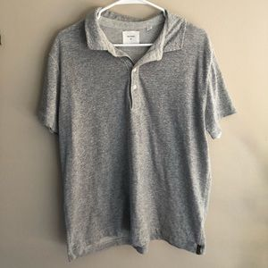 Billy Reid Polo Grey XL